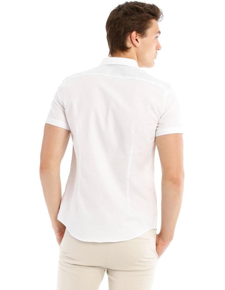 Cyprus Textured Short Sleeve Slim Shirt image 3