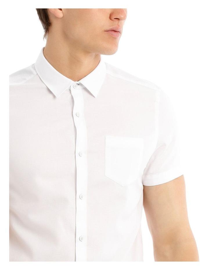 Cyprus Textured Short Sleeve Slim Shirt image 4