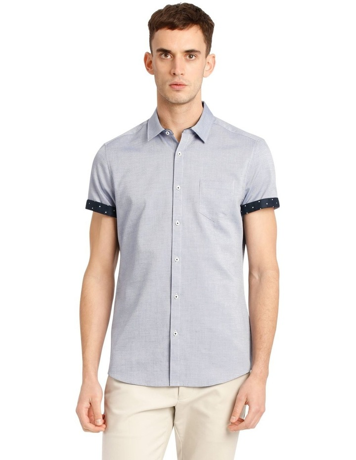 Cyprus Textured Short Sleeve Slim Shirt image 1