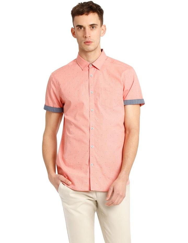 Mykonos Jacquard Short Sleeve Relaxed Shirt image 1