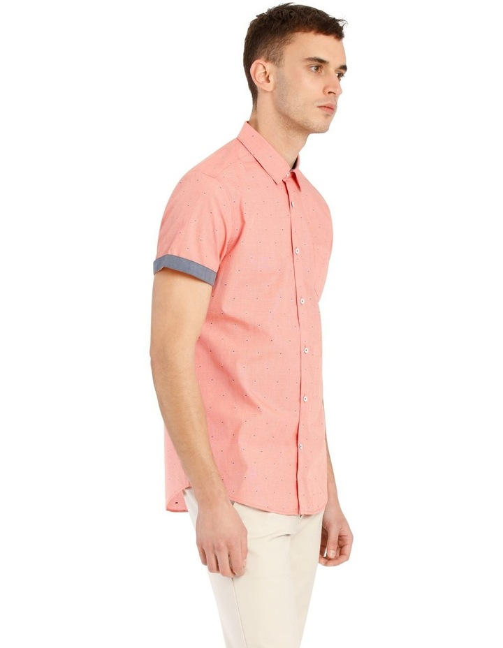 Mykonos Jacquard Short Sleeve Relaxed Shirt image 2