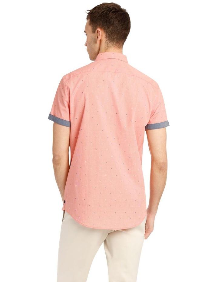 Mykonos Jacquard Short Sleeve Relaxed Shirt image 3