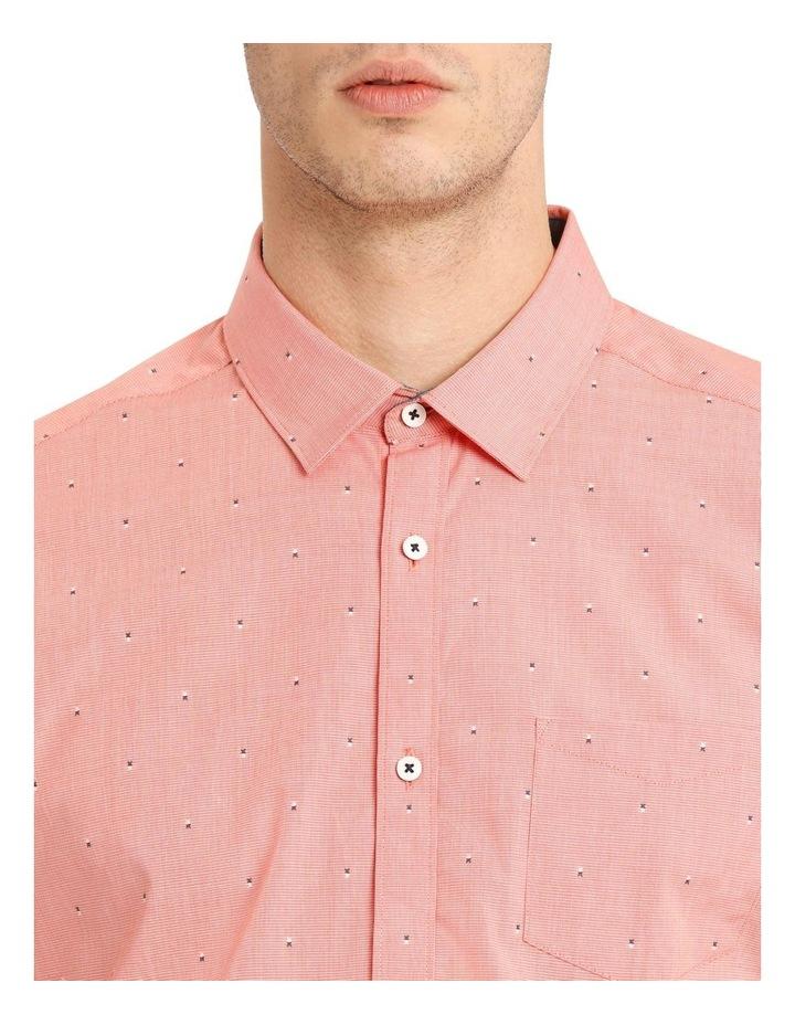 Mykonos Jacquard Short Sleeve Relaxed Shirt image 4