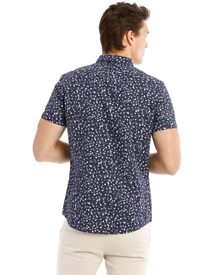 Matisse Printed Short Sleeve Slim Shirt image 3
