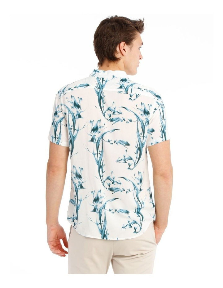 Cala Floral All Over Print Short Sleeve Rayon Shirt image 3