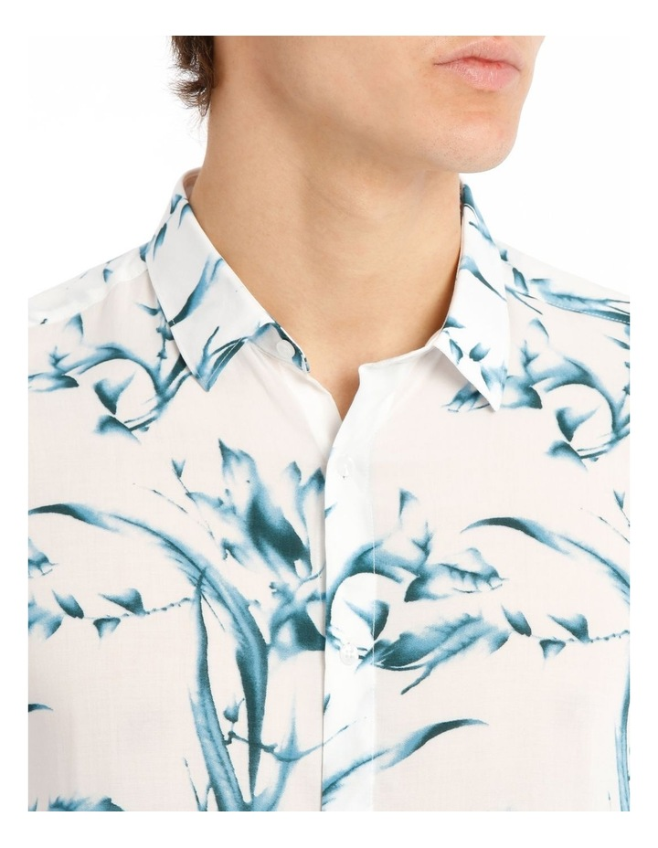 Cala Floral All Over Print Short Sleeve Rayon Shirt image 4