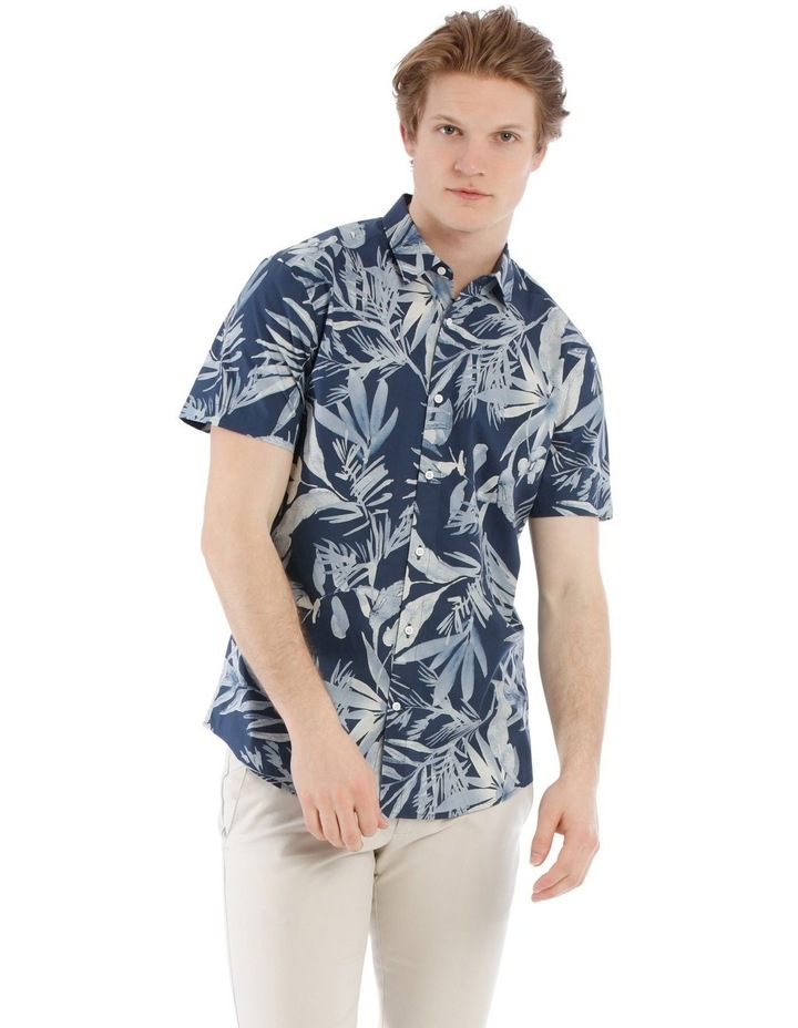 Waikiki All Over Print Short Sleeve Relaxed Shirt image 1