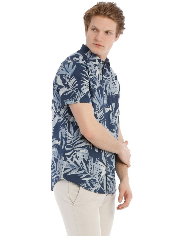 Waikiki All Over Print Short Sleeve Relaxed Shirt image 2