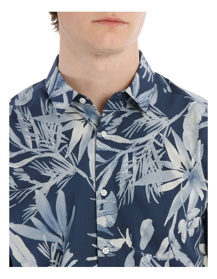 Waikiki All Over Print Short Sleeve Relaxed Shirt image 4