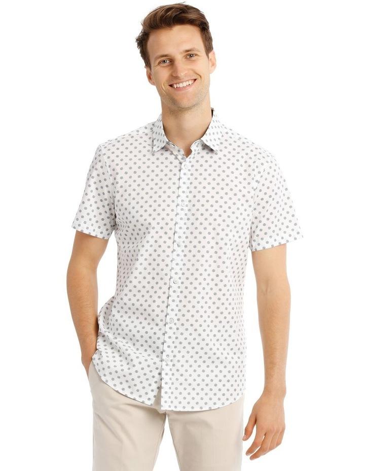 Relaxed Tanz Spot Print Short Sleeve Shirt image 1