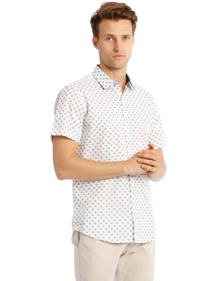 Relaxed Tanz Spot Print Short Sleeve Shirt image 2