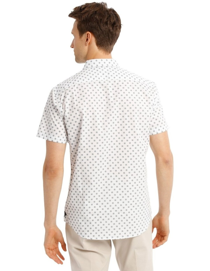 Relaxed Tanz Spot Print Short Sleeve Shirt image 3