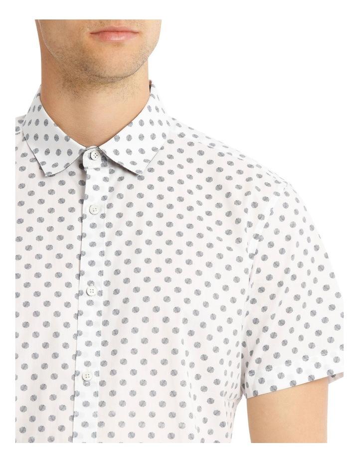 Relaxed Tanz Spot Print Short Sleeve Shirt image 4