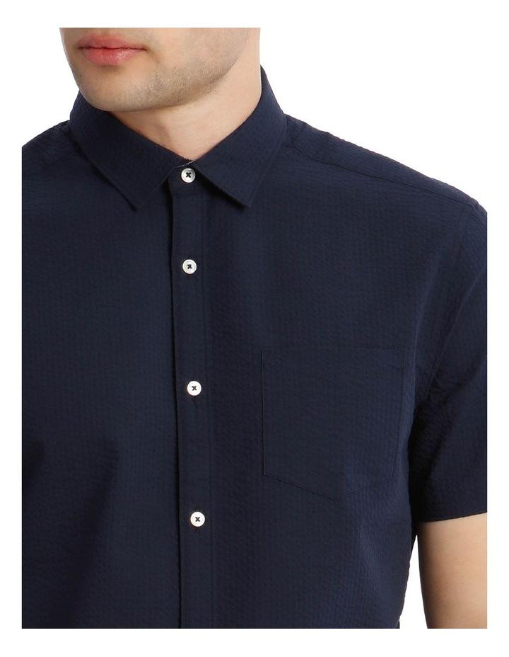 Sorrento Seersucker Short Sleeve Relaxed Shirt image 4