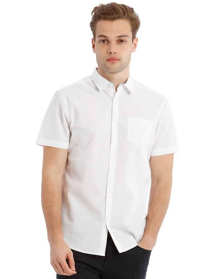 Sorrento Seersucker Short Sleeve Relaxed Shirt image 1