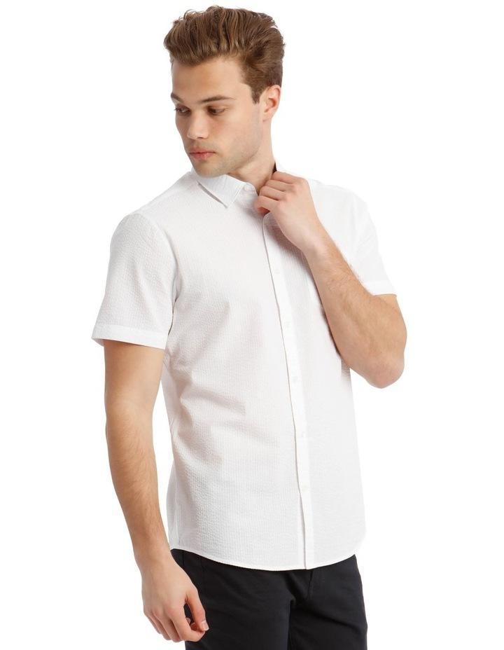 Sorrento Seersucker Short Sleeve Relaxed Shirt image 2