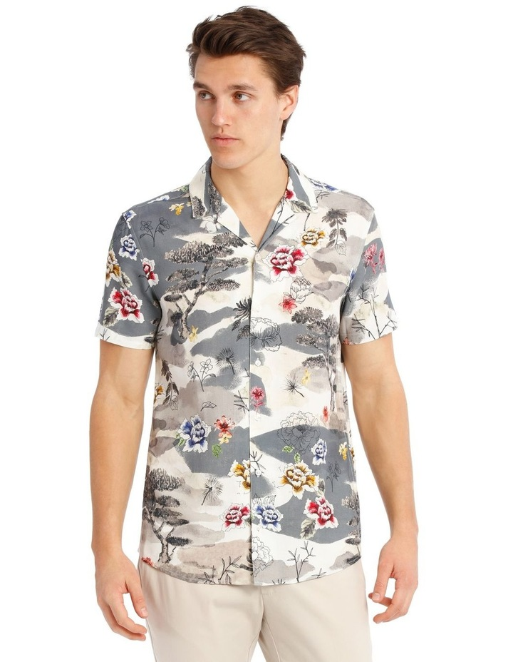 Wakatobi Printed Short Sleeve Rayon Shirt image 1