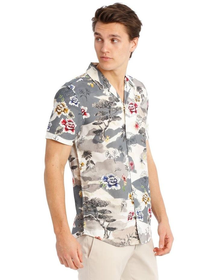 Wakatobi Printed Short Sleeve Rayon Shirt image 2