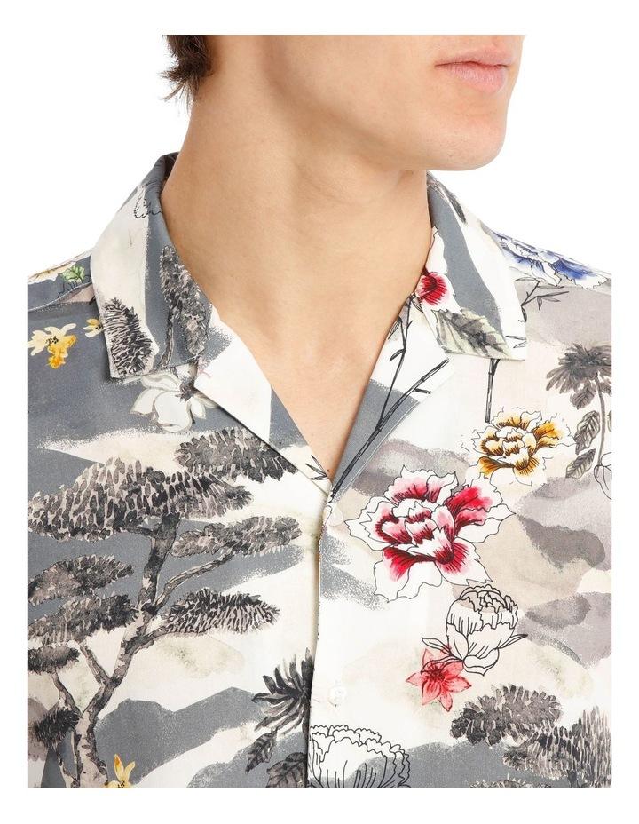 Wakatobi Printed Short Sleeve Rayon Shirt image 4