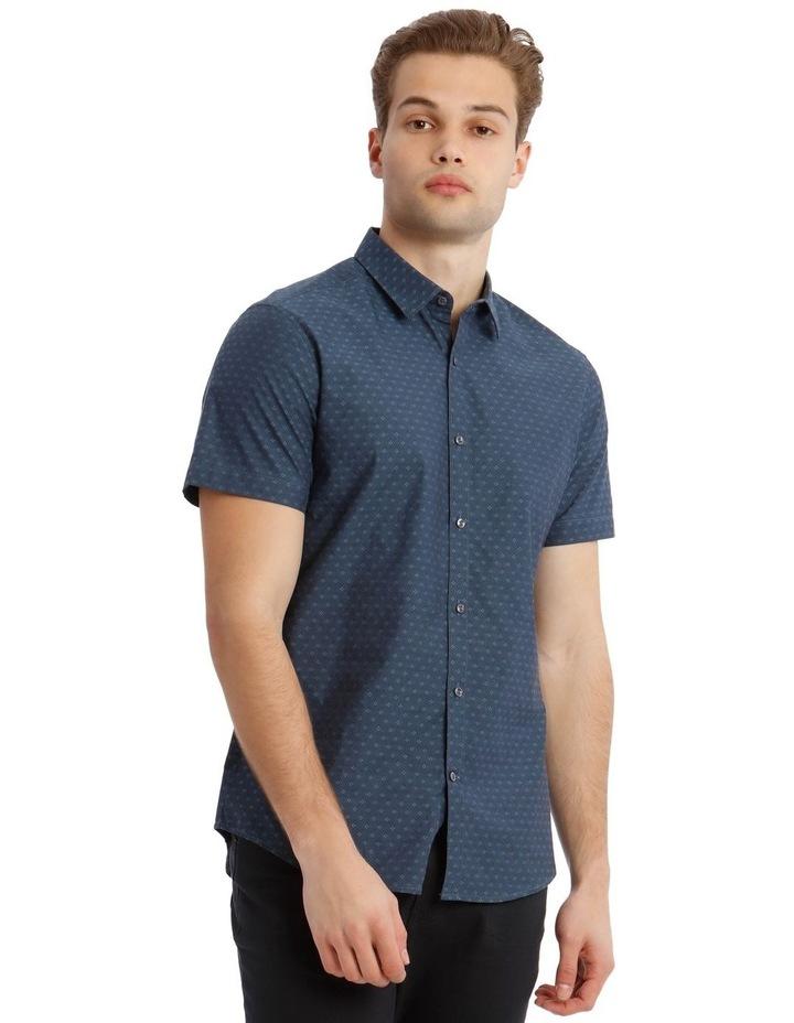 Salton Jacquard Short Sleeve Relaxed Shirt image 1