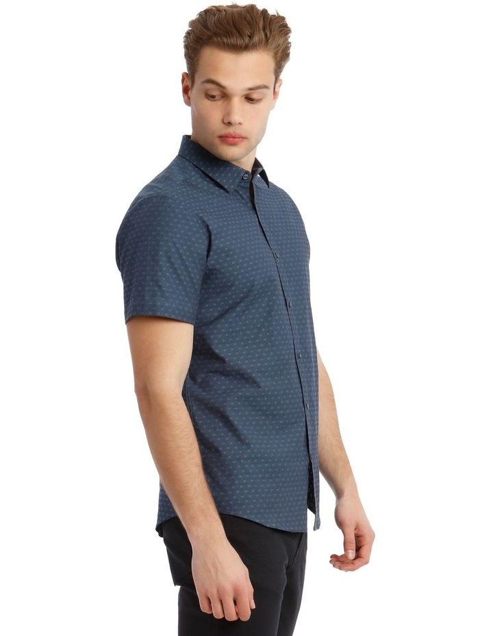 Salton Jacquard Short Sleeve Relaxed Shirt image 2
