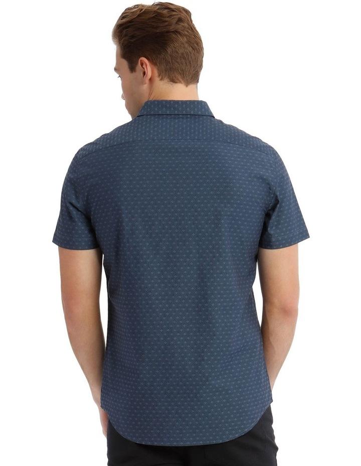 Salton Jacquard Short Sleeve Relaxed Shirt image 3