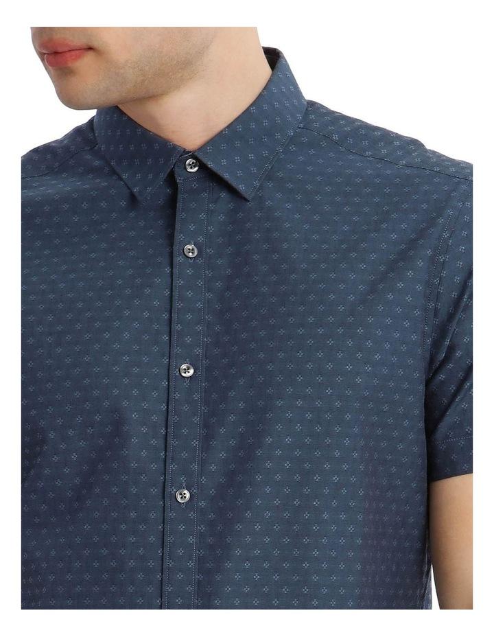 Salton Jacquard Short Sleeve Relaxed Shirt image 4