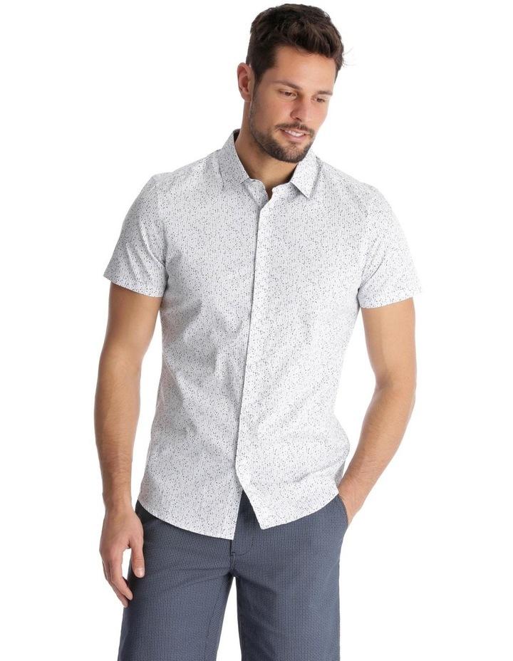 Caspian Printed Short Sleeve Slim Shirt image 1