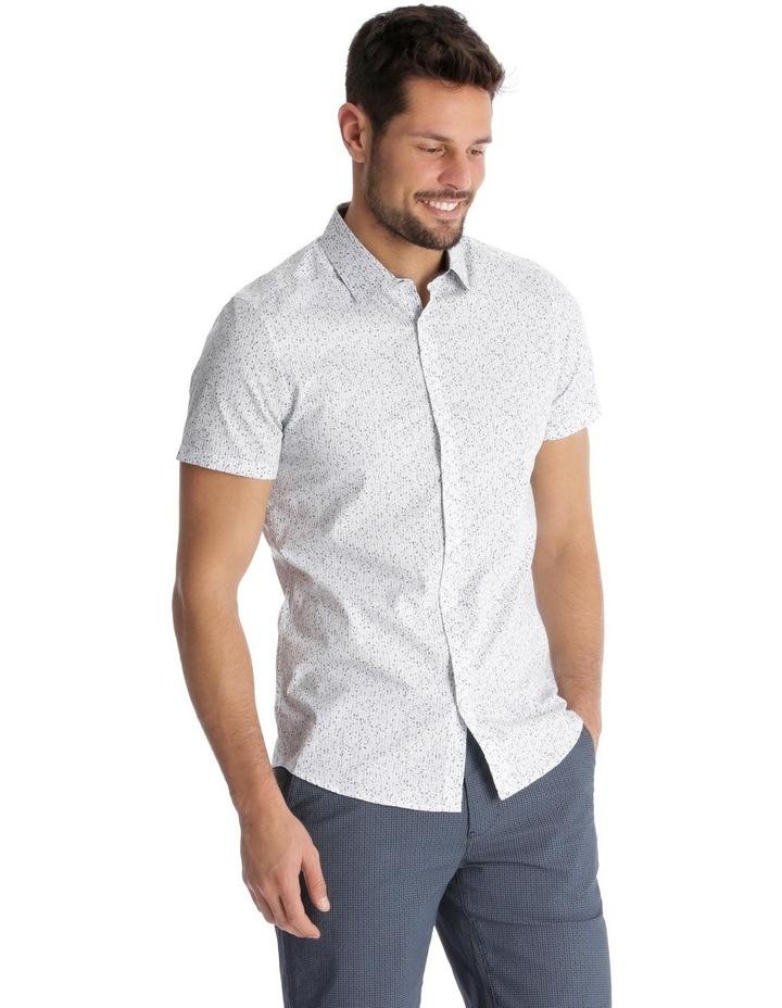 Caspian Printed Short Sleeve Slim Shirt image 2