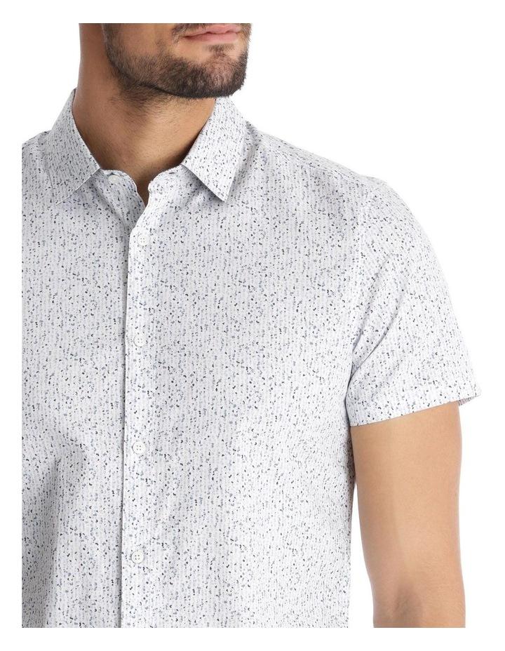 Caspian Printed Short Sleeve Slim Shirt image 4