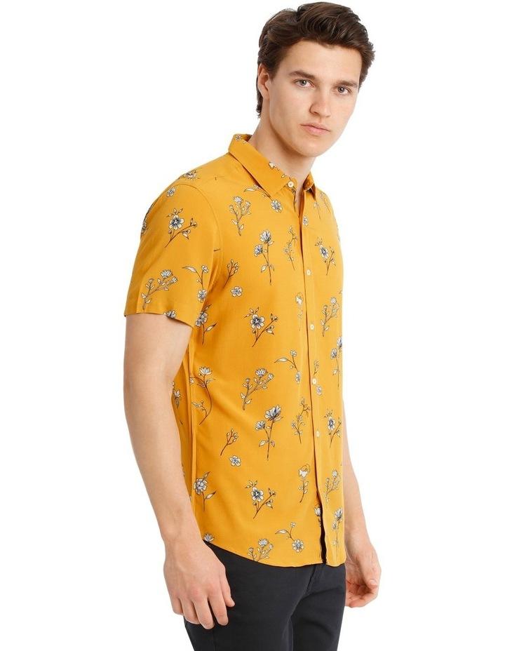 Temara Printed Short Sleeve Rayon Shirt image 3