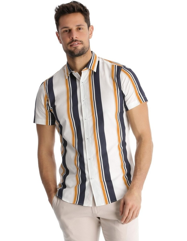 Martil Stripe Short Sleeve Slim Shirt image 1