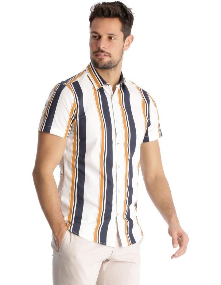 Martil Stripe Short Sleeve Slim Shirt image 2