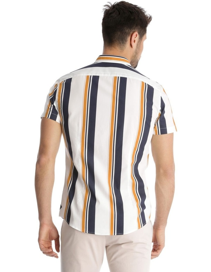 Martil Stripe Short Sleeve Slim Shirt image 3