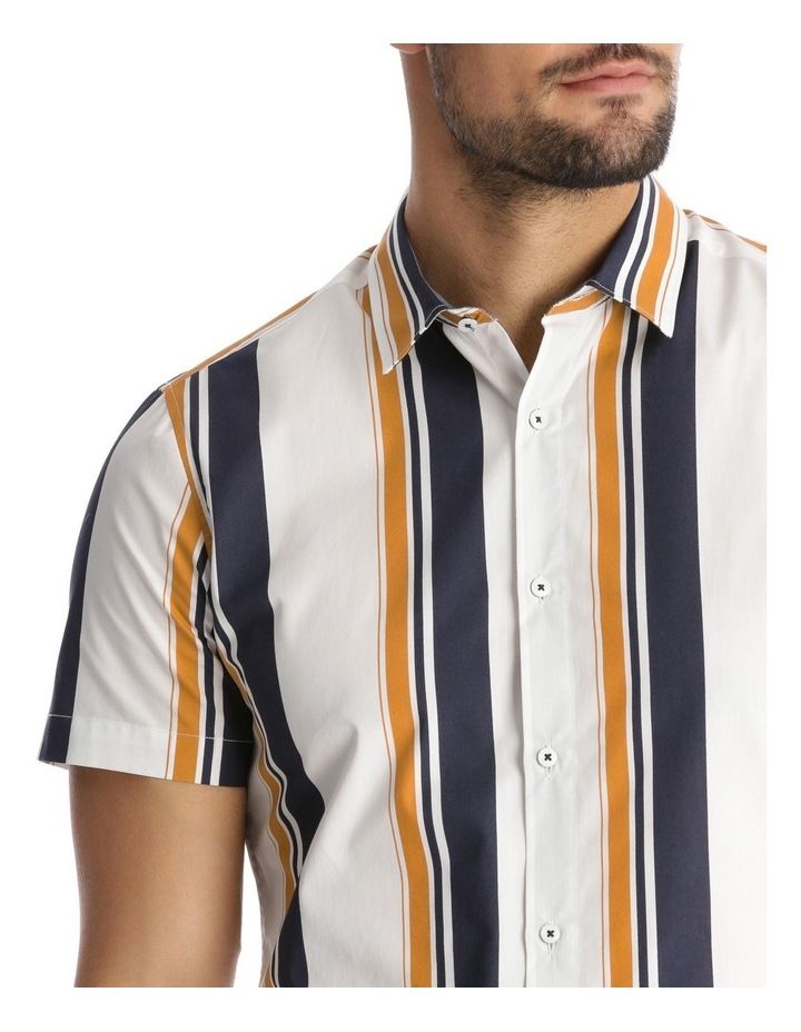 Martil Stripe Short Sleeve Slim Shirt image 4