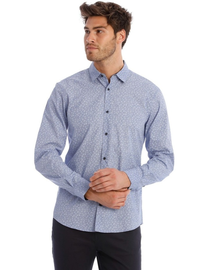 Allen Printed Long Sleeve Relaxed Shirt image 1