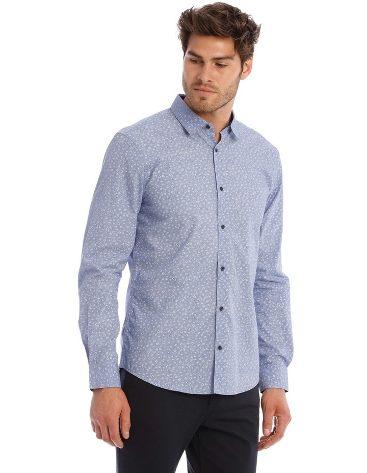 Allen Printed Long Sleeve Relaxed Shirt image 2