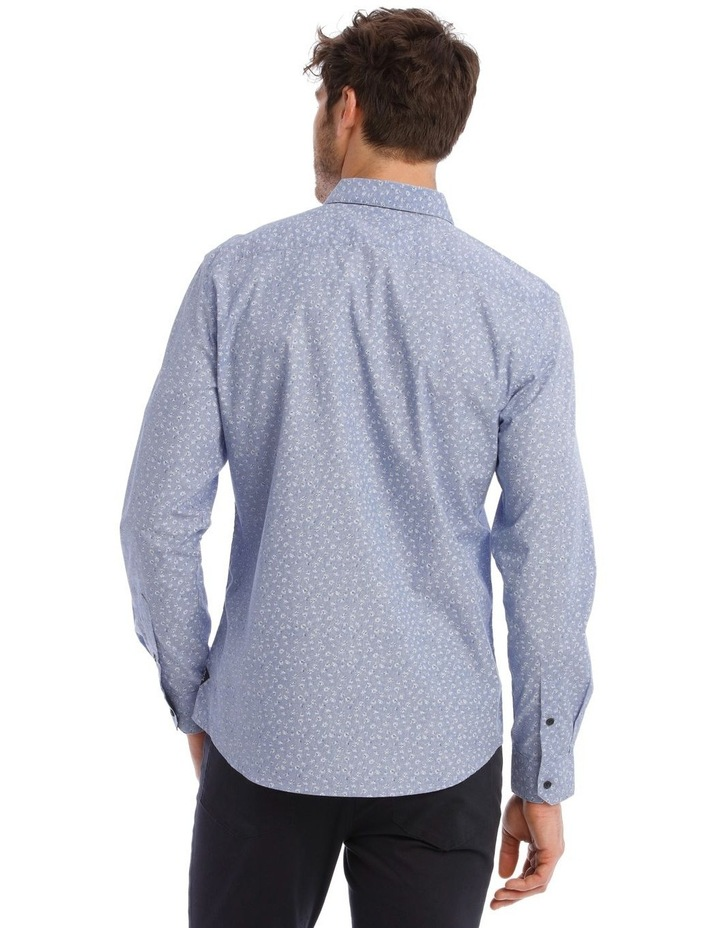 Allen Printed Long Sleeve Relaxed Shirt image 3