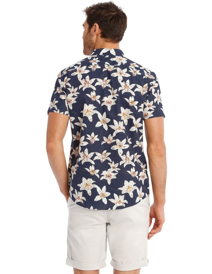 Ironwood Floral Print Short Sleeve Relaxed Shirt image 3