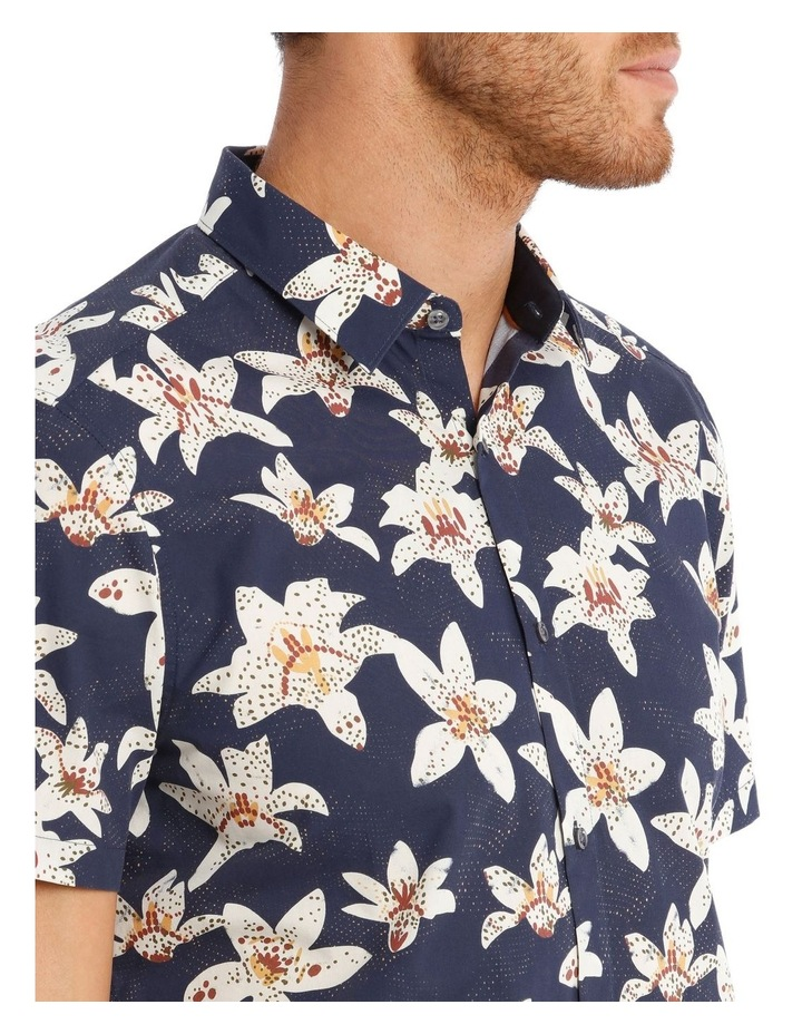 Ironwood Floral Print Short Sleeve Relaxed Shirt image 4