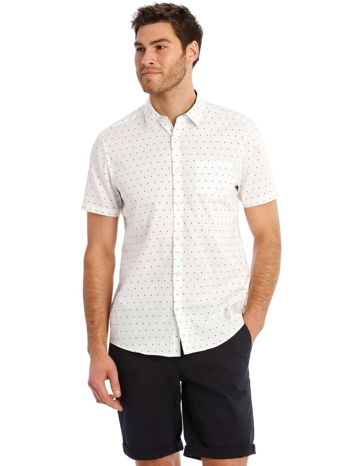 Peru Geo Print Short Sleeve Relaxed Shirt image 1