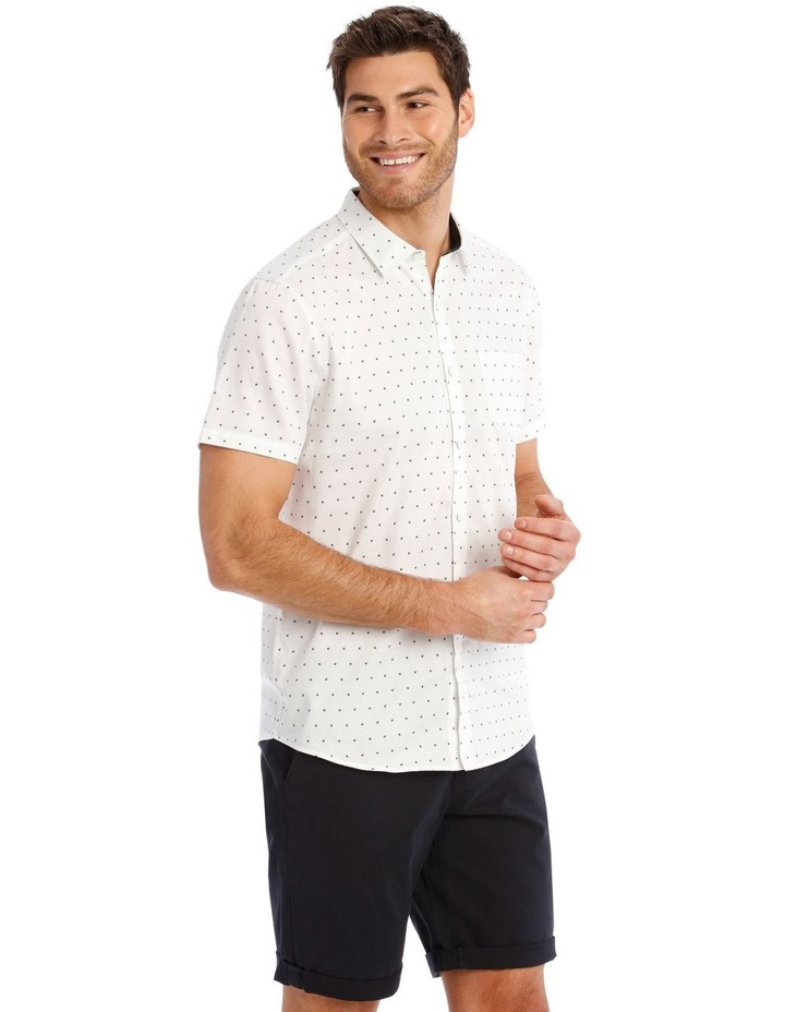 Peru Geo Print Short Sleeve Relaxed Shirt image 2