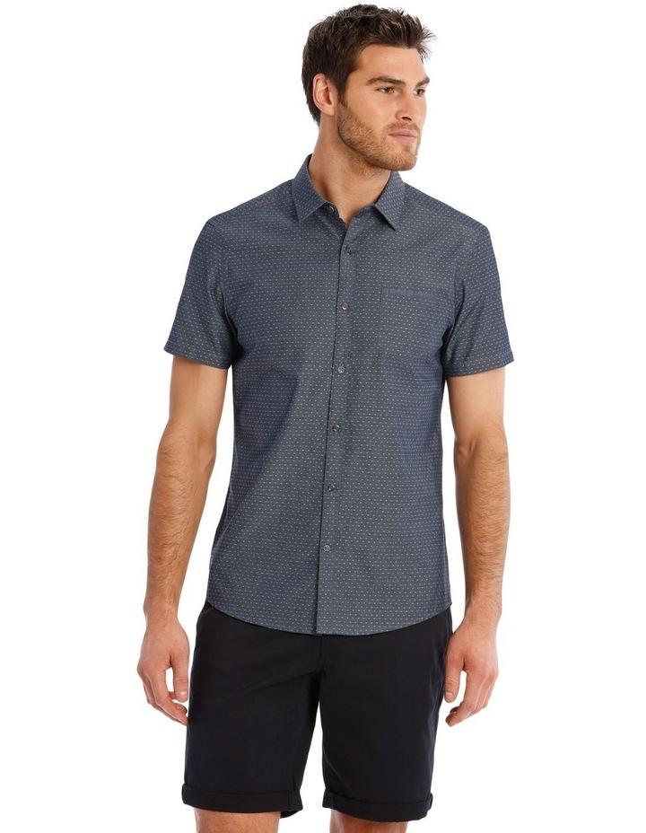Barrel Dobby Short Sleeve Relaxed Shirt image 1