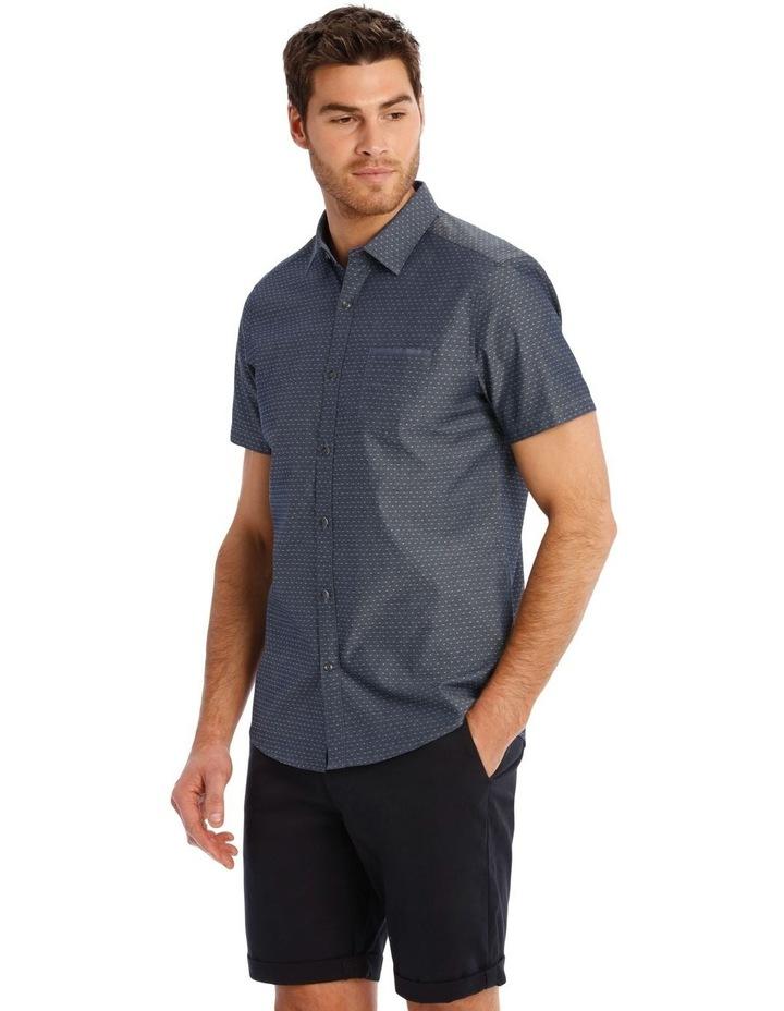 Barrel Dobby Short Sleeve Relaxed Shirt image 2