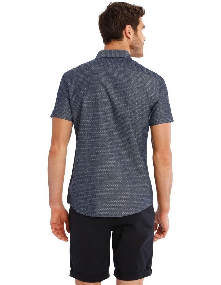 Barrel Dobby Short Sleeve Relaxed Shirt image 3