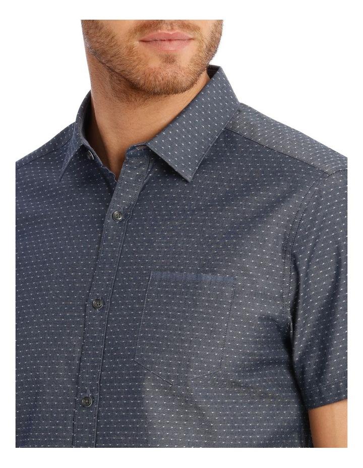 Barrel Dobby Short Sleeve Relaxed Shirt image 4