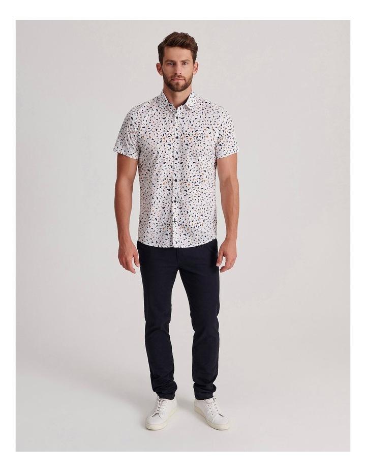 Navagio Geo Print Short Sleeve Relaxed Shirt image 2