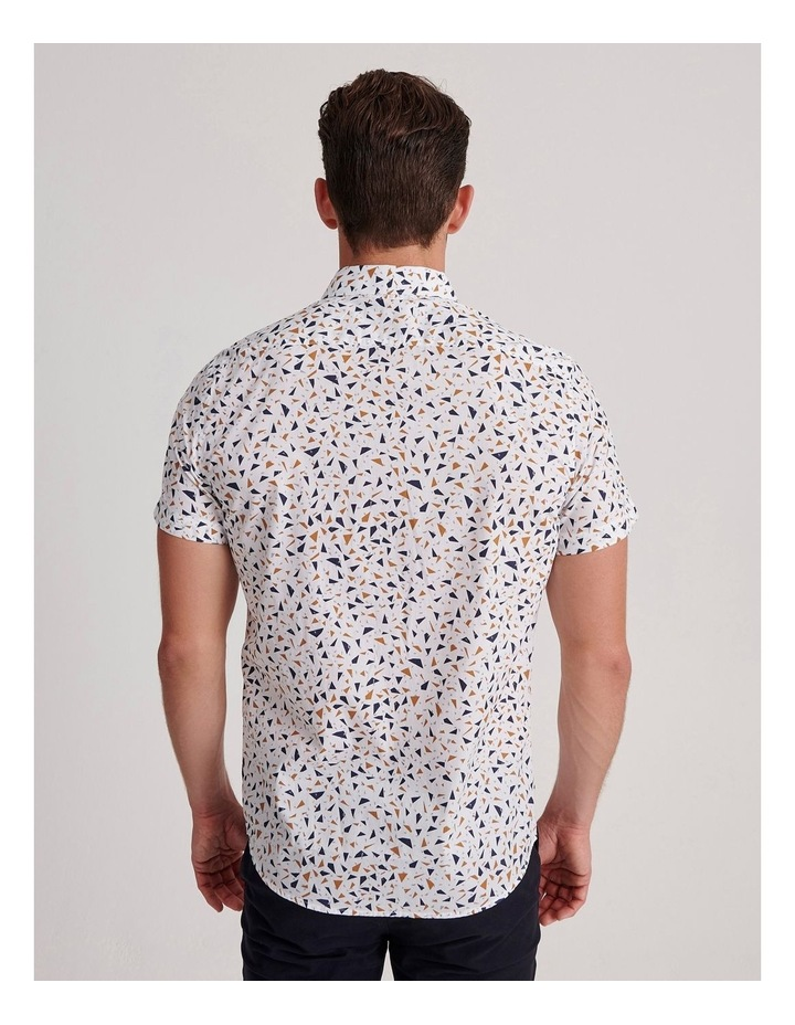 Navagio Geo Print Short Sleeve Relaxed Shirt image 4