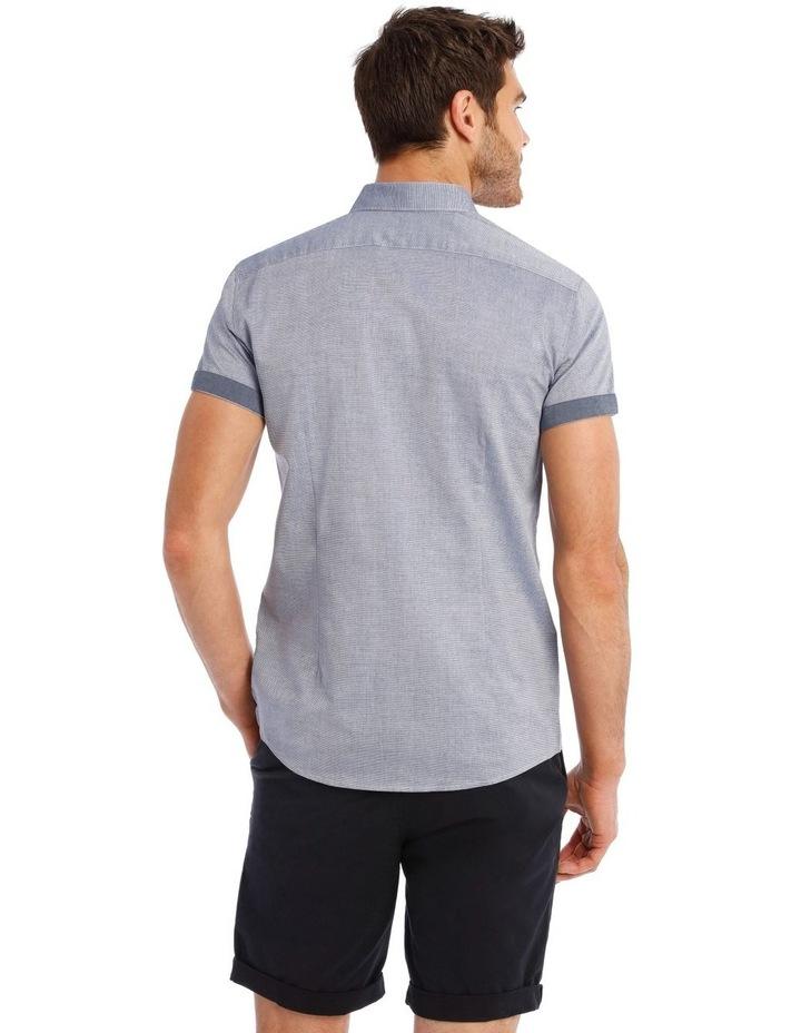 Waikiki Textured Short Sleeve Slim Shirt image 3