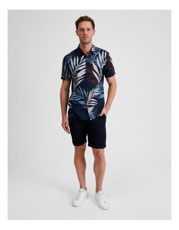 Yucca Floral Print Short Sleeve Viscose Shirt image 4